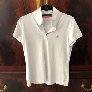Lilly Pulitzer White Island Polo Large